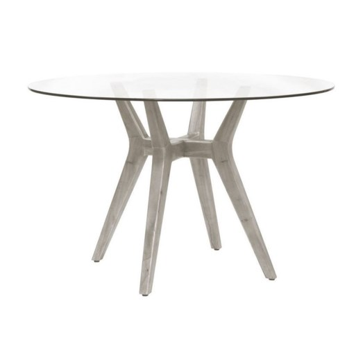Urbane Table BaseFrame Color  - Old GrayGlass Top NOT Included