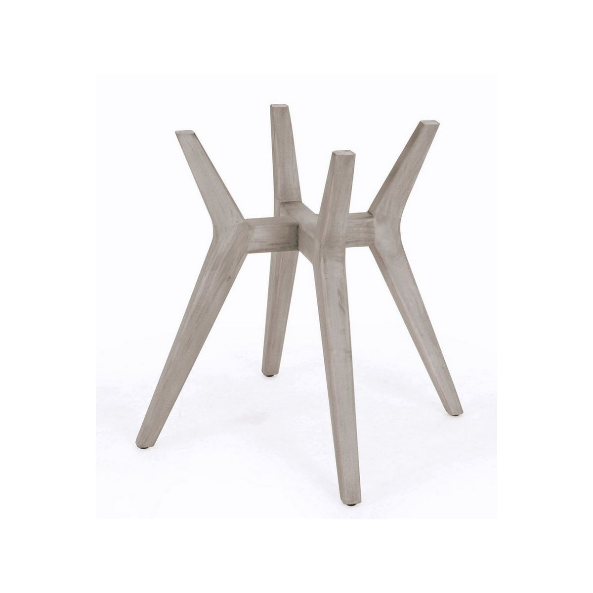 Urbane Table Base Frame Color  - Old Gray (Glass Top NOT Included) CLOSE-OUT - 50% OFF!SOLD AS-