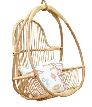 Mia Hanging Chair  (includes Hanging Rope) Color - Natural