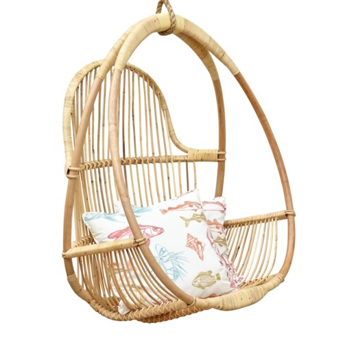 Mia Hanging Chair (includes Hanging Rope)Color - Natural