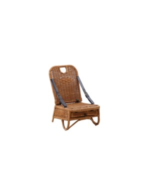 Picnic Chair  Rattan Frame  Weave Color - Natural