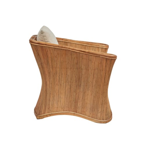 Admirals Club Chair Frame Color - Buff  Cushion Color - Cream Jarrett Bay Collection