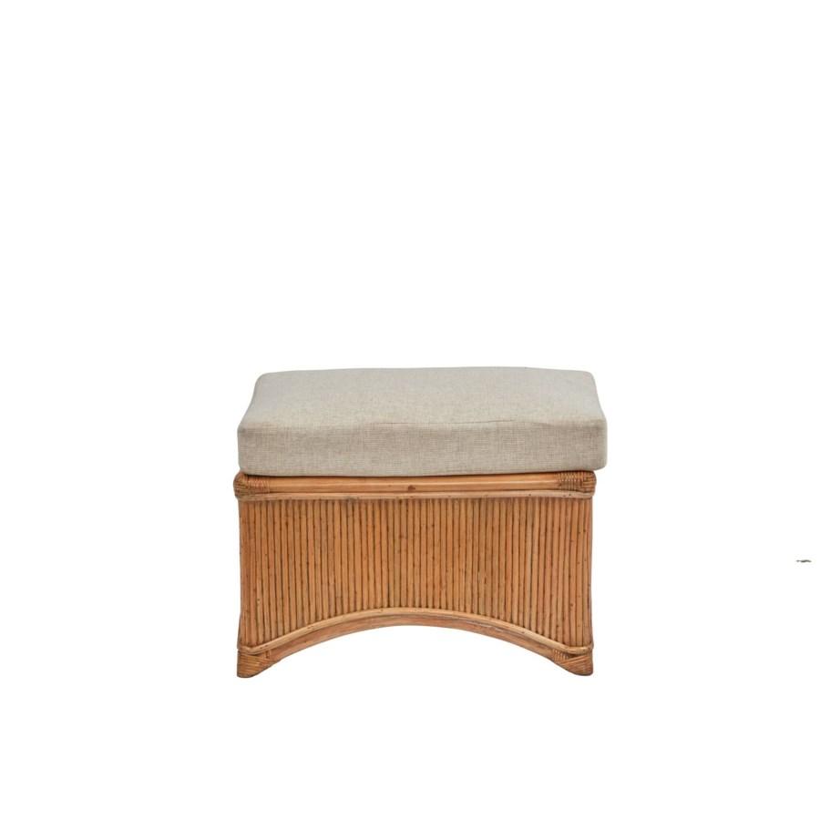 Admirals Ottoman Frame Color - Buff Cushion Color - Cream Jarrett Bay Collection