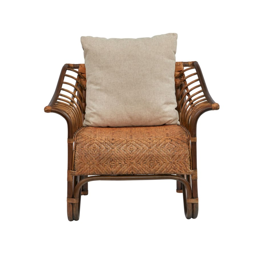 Sensation Chair  Frame Color  - Ginger   Cushion Color - Cream   Jarrett Bay Collection