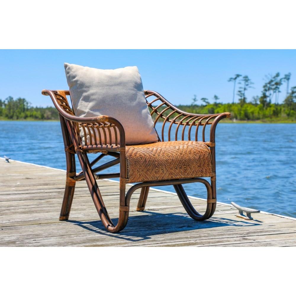 Sensation Chair  Frame Color  - Ginger   Cushion Color - Cream   Jarrett Bay Collection