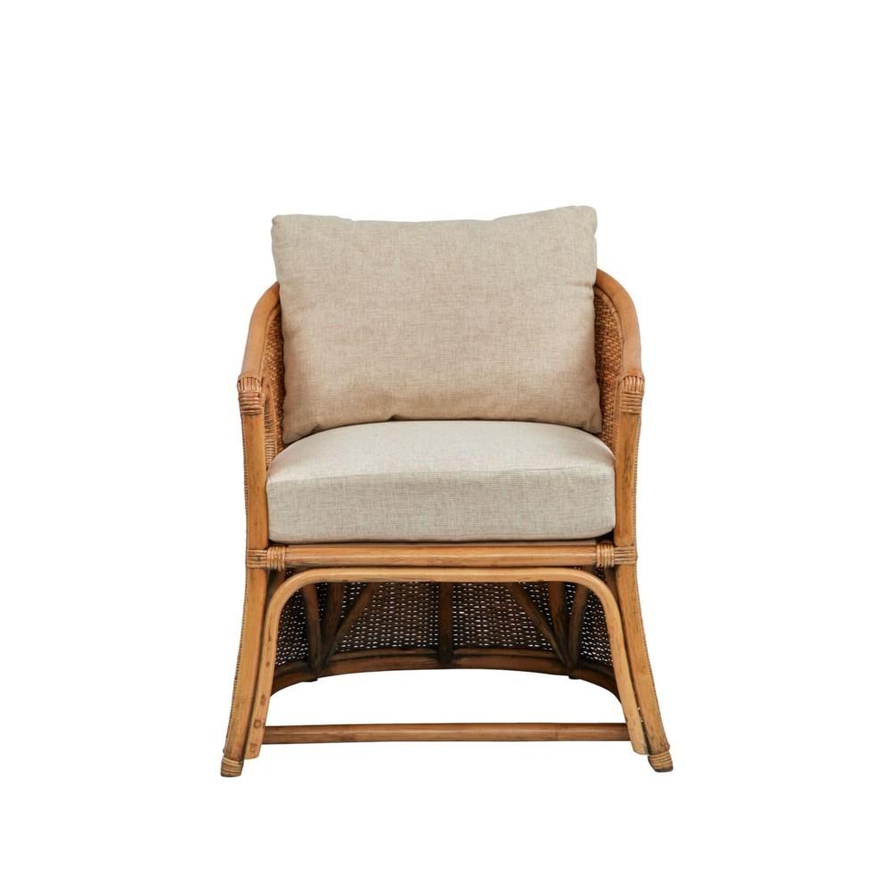 Cuddy Chair  Frame Color - Buff     Cushion Color - Cream Jarrett Bay Collection