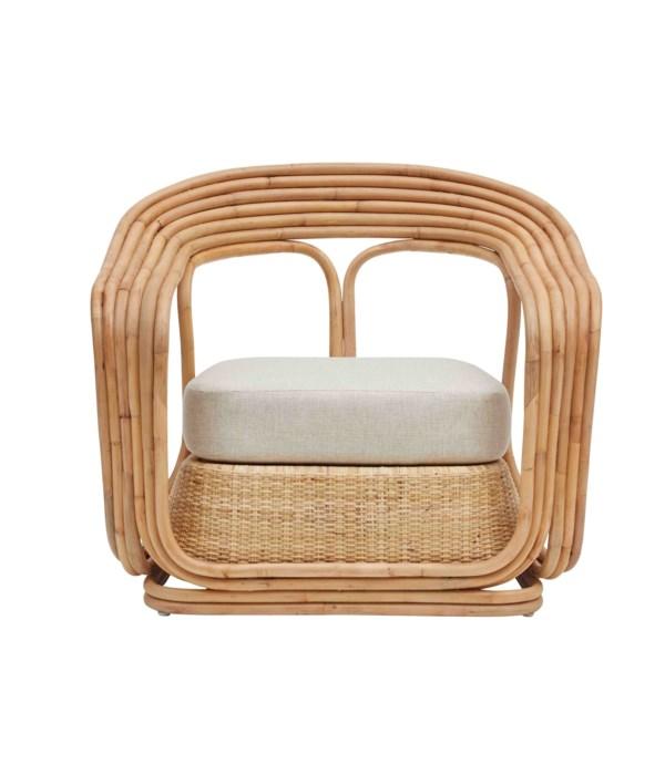 NEW!!  Elena Lounge Frame Color - Natural Cushion Color - Cream