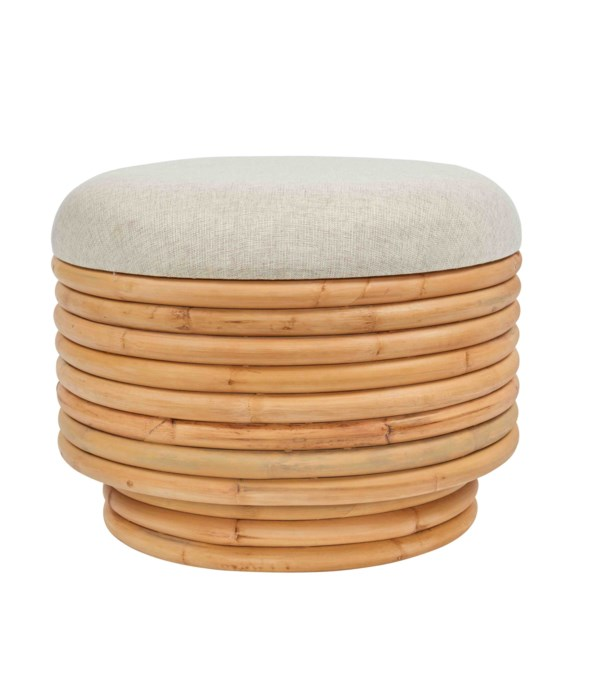 NEW!!  Madigan StoolFrame Color - Natural Cushion Color - Cream