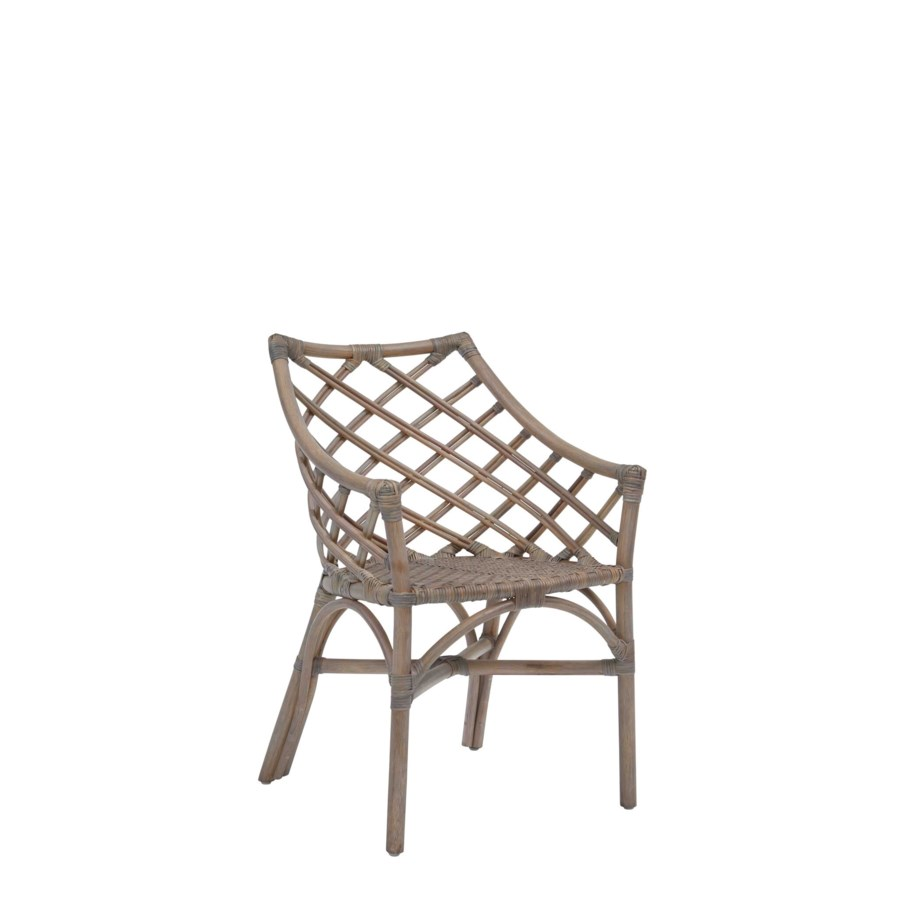 Sara  Arm Chair Color - Matte Gray