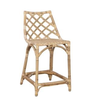 Sara Counter Chair Color - Natural