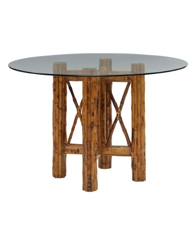 Bombay Table BaseColor - TortoiseGlass Top Not includedSome Assembly Required