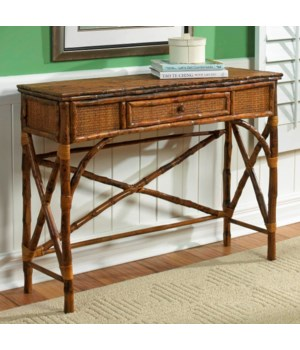 English Console Table Color - Antique Tortoise