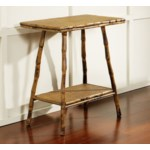English Rectangle Table Frame Color - Antique Tortoise