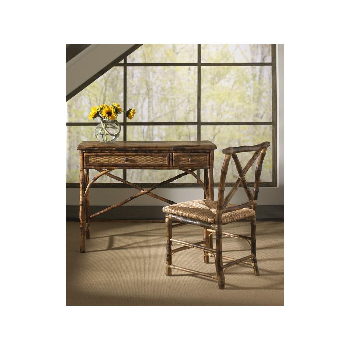 English Desk & Chair Frame Color - Antique Tortoise