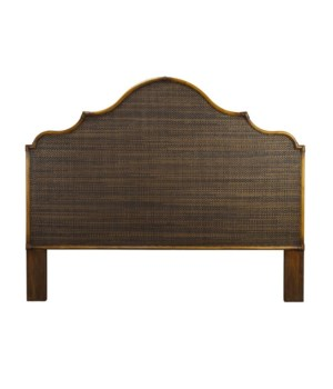 Alhambra King Headboard Color - CoffeeNOTE:  Kenian headboards are not predrilled nor do they inc