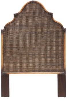 Alhambra Twin Headboard Color - CoffeeNOTE:  Kenian headboards are not predrilled nor do they inc