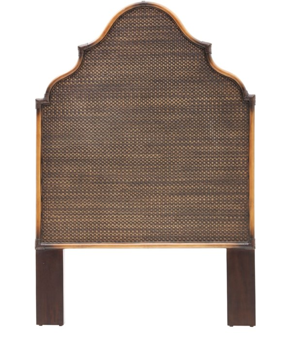 Alhambra Twin Headboard  Color - Coffee CLOSE-OUT - 50% OFF!SOLD AS-IS  ~  ALL SALES FINAL!Thi
