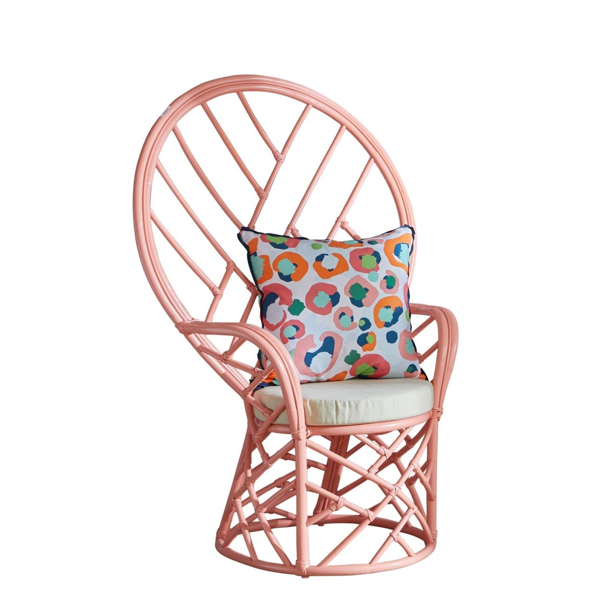 """50% OFF UNPAINTED ITEM! Chippendale Peacock Chair  Unpainted - """"Select Your Color""""  This item wi"""