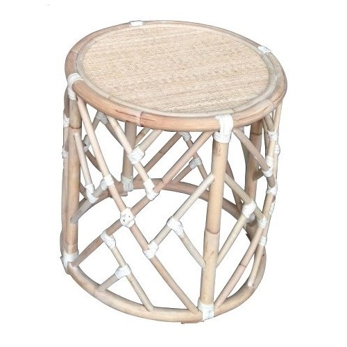 "50% OFF UNPAINTED FRAME ONLY!  Chippendale Round Side Table  Unpainted - ""Select Your Color""  Rat"
