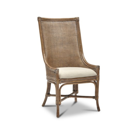 CLOSE-OUT - 50% OFF!Morgan Chair Color - Driftwood   Seat Color - Natural Cream This Item Will