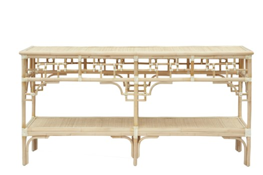 Pagoda Console Large, Frame to be Painted, Pack 1, Must ship via Truck