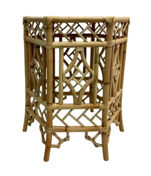 "50% OFF UNPAINTED FRAME ONLY! Pagoda Table Base Unpainted - ""Select Your Color"" Rattan Frame with"