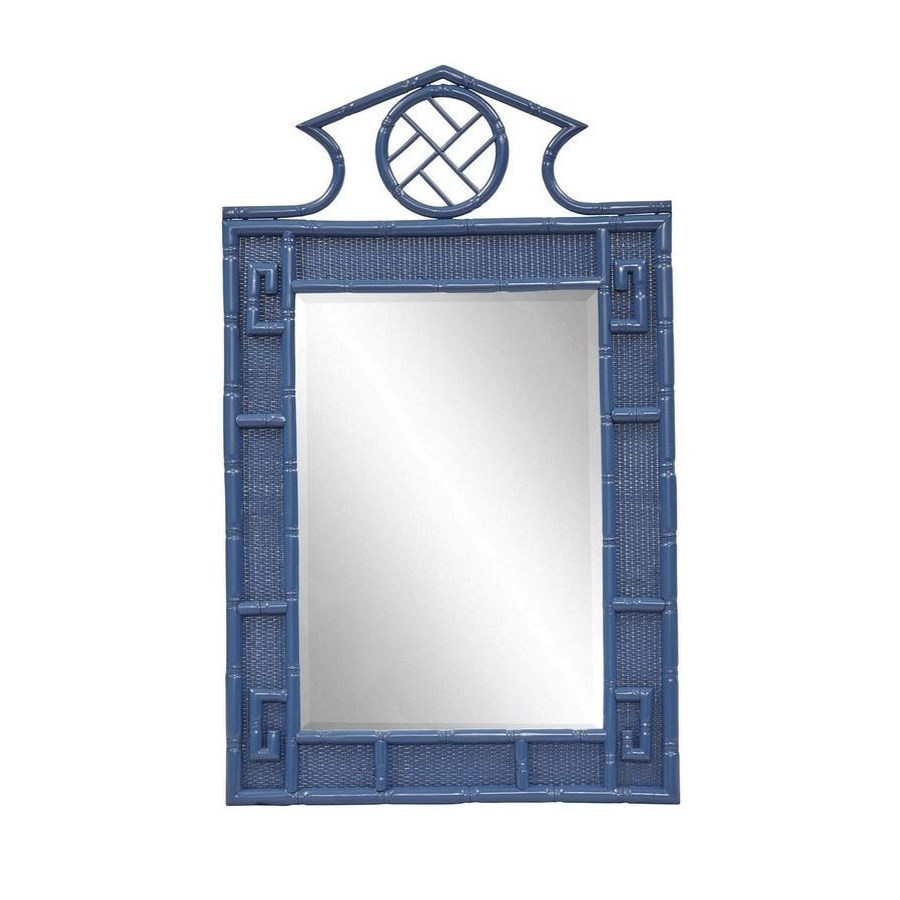 "50% OFF UNPAINTED FRAME ONLY!  Parthenon Mirror  Unpainted - ""Select Your Color""   Frame: Rattan"