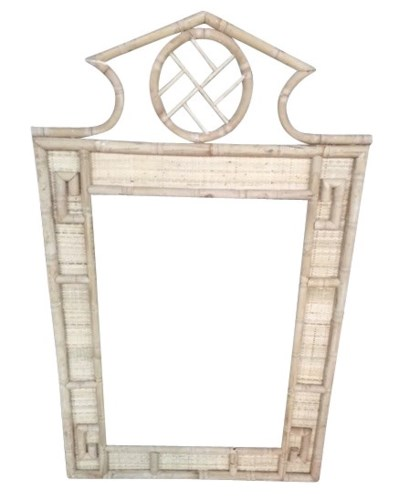 Parthenon Mirror, Frame to be Painted, Pack 1 Re-shipper(Originally $375.00)Item to be Discontinu