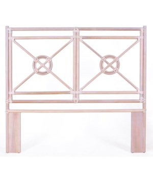 "50% OFF UNPAINTED FRAME ONLY!  Jardin Queen Headboard  Unpainted - ""Select Your Color""  Rattan Fr"