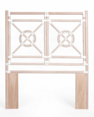 30% OFF UNPAINTED ONLY -Jardin Twin HeadboardFrame to be PaintedPack 1Item to be Discontinued