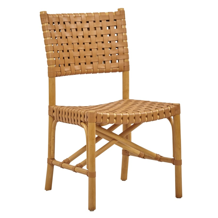 Buy1Get1 FREE! -Malibu Side ChairColor - Natural/SaddleItem to be discontinued