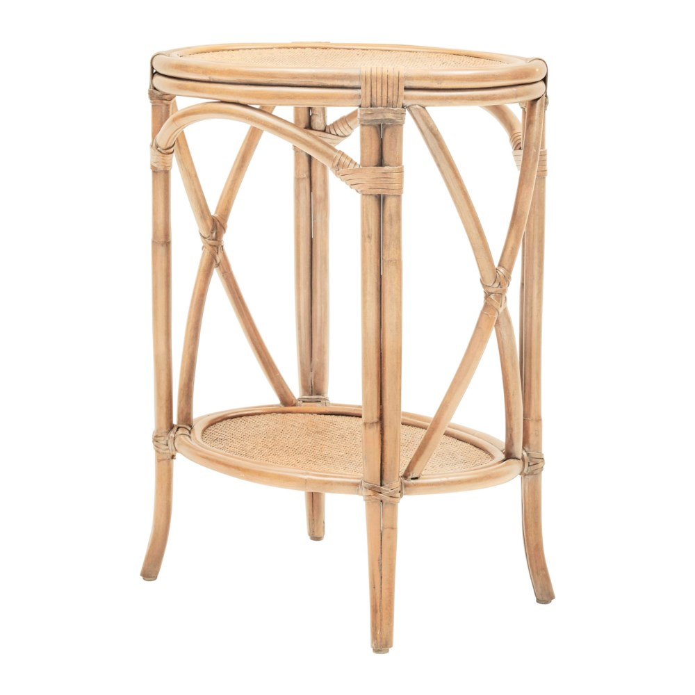 """50% OFF UNPAINTED FRAME ONLY!  Morgan Accent Table  Unpainted - """"Select Your Color"""" Rattan Frame"""