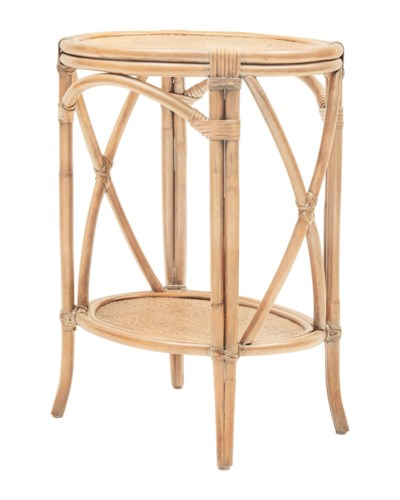 Morgan Accent Table, Frame to be Painted, Pack 1 Re-shipper(Originally $290.00)Item to be Discont