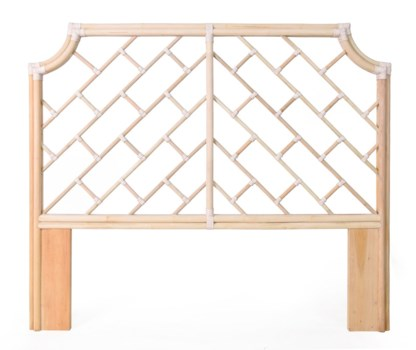 Palm Beach Chippendale Headboard, Queen, Frame to be Painted, Pack 1NOTE:  Kenian headboards are n