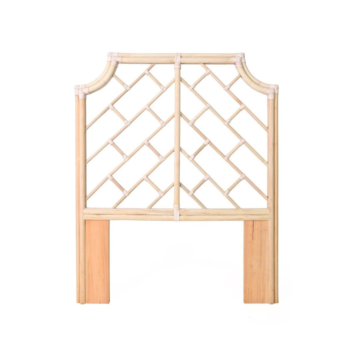 """50% OFF UNPAINTED ITEM ONLY! Palm Beach Chippendale Headboard Twin Frame Unpainted - """"Select Your"""