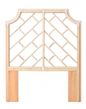 Palm Beach Chippendale Headboard, Twin, Frame to be PaintedNOTE:  Kenian headboards are not predr