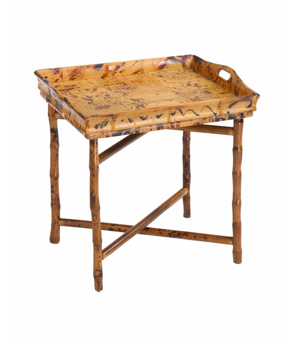 End Tray Table Frame Color - Tortoise Matte