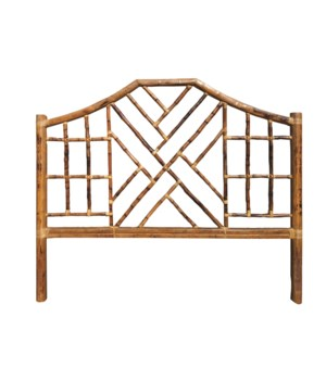 25% OFF -Chinese Chippendale Headboard KingColor - Antique TortoiseItem to be DiscontinuedNOTE