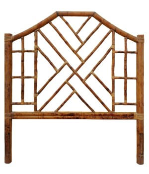 Chinese Chippendale Headboard Queen Color - Antique Tortoise NOTE:  Kenian headboards are not  pr