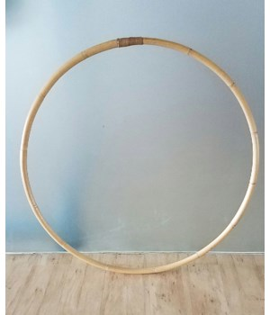 CLOSE-OUT - Buy1Get1 FREE! Hula Hoop Color - Natural Item to be Discontinued
