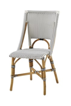 Bistro ChairColor - White & BlackSold in Pairs ONLY