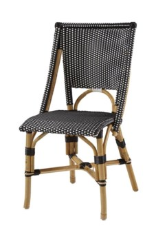 Bistro ChairColor - Black & WhiteSold in Pairs ONLY