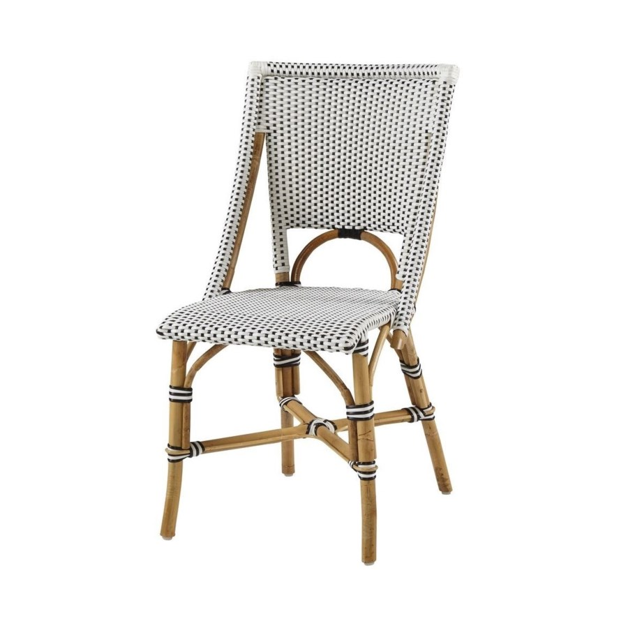 Bistro ChairColor - White & BlackSold in Pairs ONLY(Price Shown is Per Item)