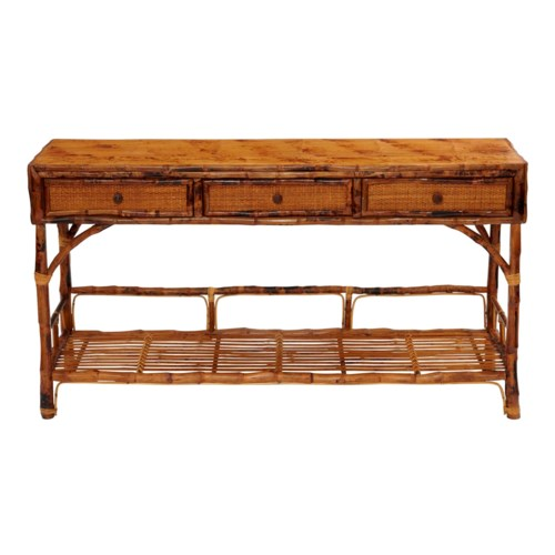 Large Buffet Console Finish Tortoise Matte