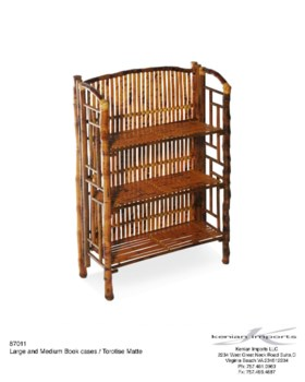 Buy1Get1 FREE! -Table Top / Hanging Large BookcaseColor - Tortoise MatteItem to be discontinued