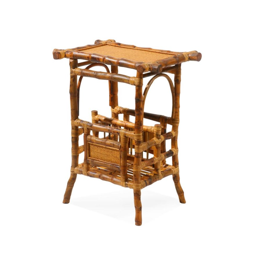 Magazine Table Finish - Antique Tortoise