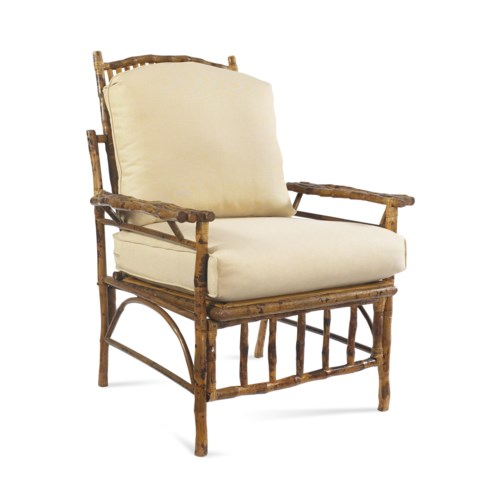 The Big Easy ChairFrame Color -TortoiseChoose Your Cushion Color - Sail Cloth Sand or Canvas Canva