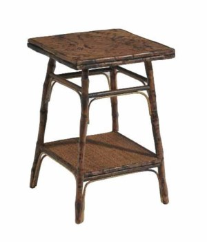 SOLD OUT!Square Side TableFrame Color - Antique TortoiseTHIS ITEM HAS BEEN DISCONTINUED AND IS N