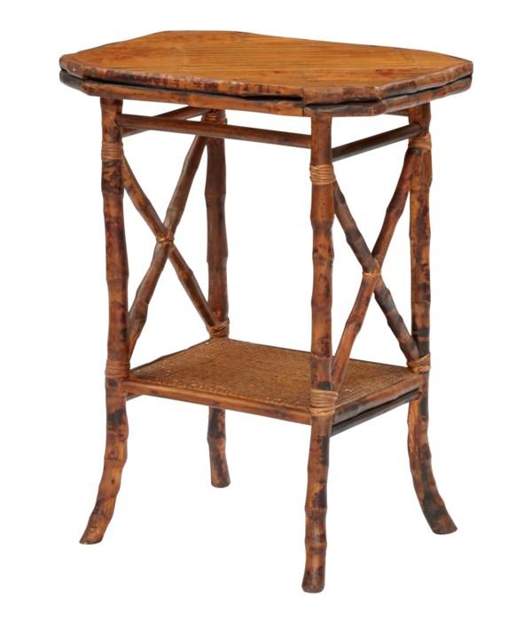 Davenport Side Table Frame Color - Antique Tortoise