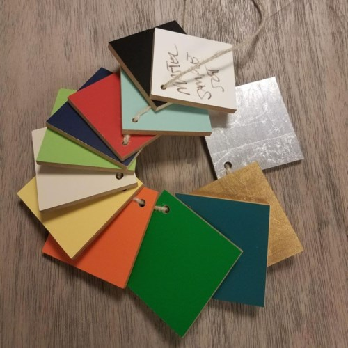 Color Swatches for Kenian Home Paint to Order Program.Price includes S&H.